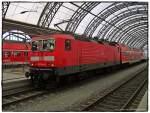 BR 143/21212/br-143-244-2-der-deutschen-bahn BR 143 244-2 der Deutschen Bahn AG im Dresdener Hauptbahnhof