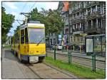 stettin/26823/kt4dt-104-ex-berliner-7018-bvg KT4DT 104 (ex. Berliner 7018 (BVG)) auf der Linie 12 nach Pomorzany